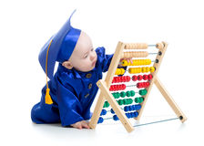 Early learning baby Stock Photography