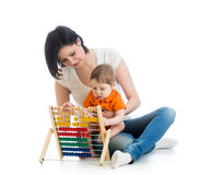 Early learning baby Stock Photo