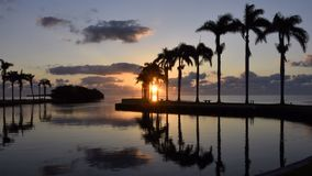 Cutler Bay Sunrise. Early March morning and sunrise at Cutler Bay near Miami, Florida Royalty Free Stock Photos