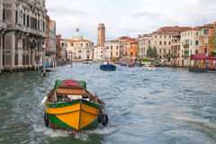 Early moning in Venice,  Italy. Grand canal, Venice, Italy in early morning Stock Photos