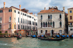 Early moning in Venice,  Italy. Royalty Free Stock Images