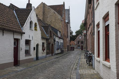 Early Monring in Bruges Stock Image
