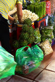 Early morning activity at the Ben Thanh market Stock Images