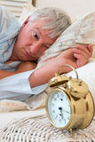 Early morning alarm clock Royalty Free Stock Image