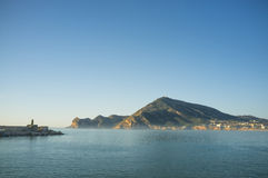 Early morning on Altea Royalty Free Stock Photos