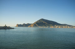 Early morning on Altea bay Royalty Free Stock Images
