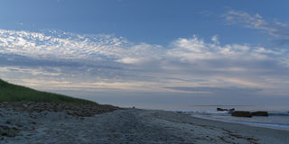 Early morning on Aquinnah Public Beach Stock Image