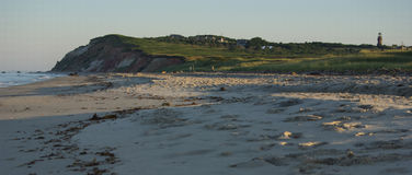 Early morning on Aquinnah Public Beach Royalty Free Stock Image