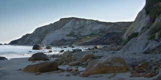 Early morning on Aquinnah Public Beach Stock Photography