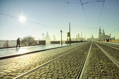 early morning in dresden Stock Photography