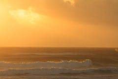 Early morning at the Australian beach Stock Photos
