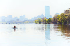 Early Morning in Boston Royalty Free Stock Images