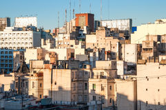 Early morning in Buenos Aires Royalty Free Stock Photos