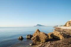 Sunny Altea bay Royalty Free Stock Image