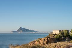 Sunny Altea bay Royalty Free Stock Images