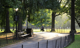 Early morning in Central Park NYC Royalty Free Stock Photos