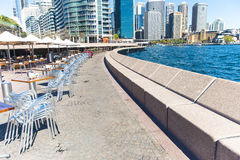 Early morning Circular quay Royalty Free Stock Photo