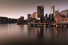 Early morning at Circular Quay, Sydney, Australia Royalty Free Stock Images