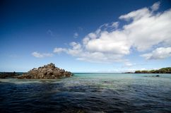 Early morning clouds over Puako beach Royalty Free Stock Photo