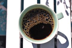 Early morning coffee Royalty Free Stock Photography