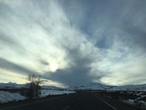 Early morning Colorado sky Royalty Free Stock Photo