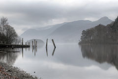 Early Morning Derwentwater Stock Photos