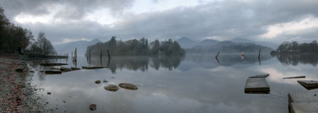 Early Morning Derwentwater Royalty Free Stock Photo