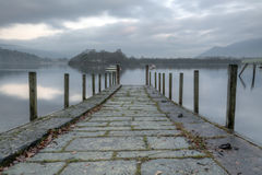 Early Morning Derwentwater Stock Image