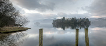 Early Morning Derwentwater Royalty Free Stock Images