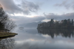 Early Morning Derwentwater Royalty Free Stock Photography