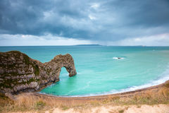 Early morning Durdle Door, Swanage, Dorset, England Royalty Free Stock Images