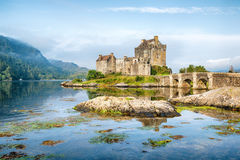 Early Morning at Eilean Donan Castle Stock Photo