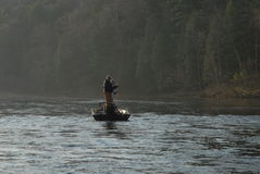 Early morning fishing Stock Photography