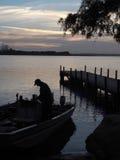Early Morning Fishing Trip Royalty Free Stock Photo