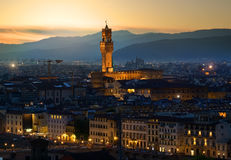 Early morning in Florence Royalty Free Stock Image