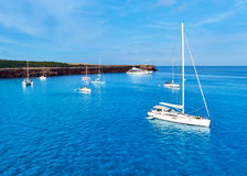 Early morning in in Formentera. Royalty Free Stock Photo