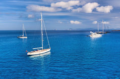 Early morning in in Formentera Royalty Free Stock Photo