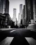 Business district in GZ. Early morning Guangzhou Stock Photo