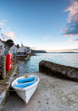 Early Morning at Kingsand in Cornwall Stock Images