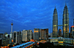 Early Morning KL Stock Photos