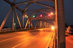 Early morning at Krung Thon Bridge Stock Image