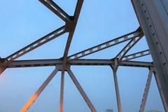 Early morning at Krung Thon Bridge Stock Photos