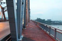 Early morning at Krung Thon Bridge Stock Images