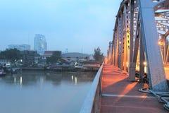 Early morning at Krung Thon Bridge Stock Photography