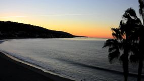 Early Morning Laguna Beach stock footage