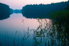 Early morning lake Royalty Free Stock Images