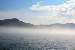 Early morning at the lake Stock Image