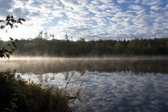Early Morning Landscape. Early morning in the Adirondack Mountains Stock Image