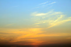 Early Morning Light, Blurred Sunrise Background. Royalty Free Stock Images