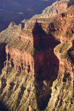 Early morning light on rugged canyon ridges Stock Photo